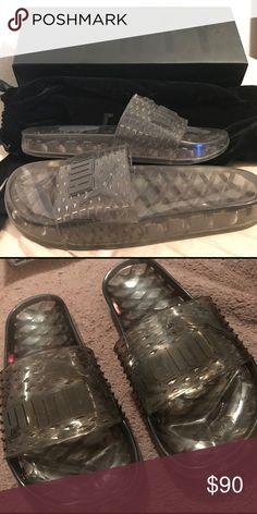 161ba96b4295 Fenty Slides Women s Fenty Puma slides. Never been worn. Has been in the  dust