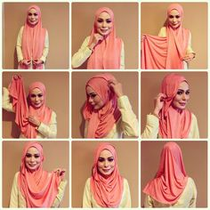There's so many ways to style jersey hijabs unlike what many people think, it's true that jersey fabric stick to the body and show the details of the head like ears the way your hair is tied... etc But if…