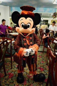HKDL2013★10/18:Enchanted Garden Restaurant②|imagical days 〜Disney Parks Travel Logs〜