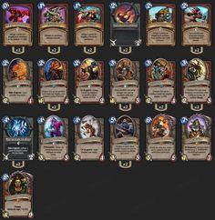 Guerrier Grim Patron, Deck pro - Hearthstone : Heroes of Warcraft - Guerrier - War - Garrosh