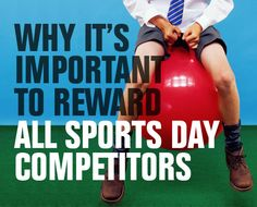 why its important to reward all sports day competitors School Badges, Sports Day, Personality, Baseball Cards, Education, Blog, Teaching, Onderwijs, Learning
