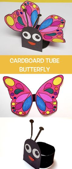 Cardboard Tube Butterfly – Make Film Play