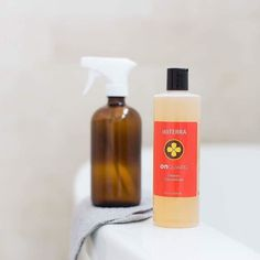 The multi-purpose capabilities of doTERRA On Guard Cleaner Concentrate make it perfect to expertly clean hard surfaces in the kitchen bathroom or any room leaving behind a clean and invigorating scent. As long as it is diluted as directed it is safe to use on natural wood and stone surfaces ie. marble granite etc. If you are concerned about using this try a small test spot first. #doterraonguardcleanerconcentrateweek #essentialoils #clean #doterra #pureessentially #pureeos