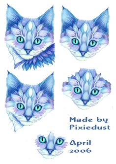 . Homemade Stickers, 3d Sheets, Image 3d, Pretty Cats, Pretty Kitty, 3d Cards, Decoupage Paper, Card Patterns, Card Maker