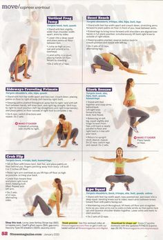 "Trainer Mike Fitch created these moves for ""Animal Flow"" at Equinox gyms. From Fitness magazine."