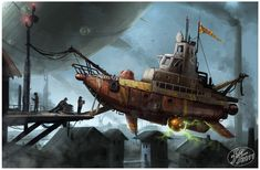 Flying boat by 14-bis.deviantart.com on @deviantART