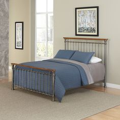 Home Styles The Orleans Queen Bed, Brown