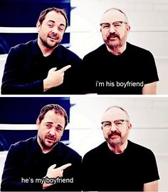 I just adore the Mark Sheppard/ Jim Beaver dynamic. So excited to be meeting them this November!