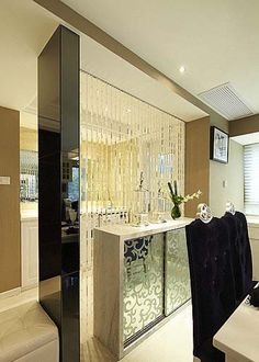 16 Amazing Suspended Room Dividers Picture Ideas