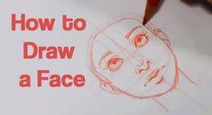 How to Draw a Face, Art Tutorial Series – Hildur.K.O
