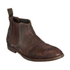 Shoto  Washed Chelsea Demi boot