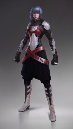 Female Sci Fi Suit
