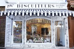 Pop along to the Biscuiteers Icing Cafes and Boutiques and have a go at icing yourself!