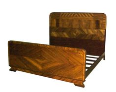Image detail for -Interesting Art Deco Bed Set c. 1930 For Sale | Antiques.com ...