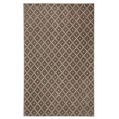 Brayden Studio® Nguyet Walnut/Taupe Area Rug