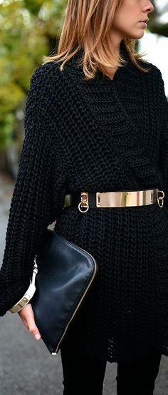 belted cardigan style ♥✤ | KeepSmiling | BeStayClassy