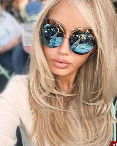inspired mirrored sunglasses http://www.justtrendygirls.com/inspired-mirrored-sunglasses/
