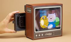 Retro viewing: Vintage television smartphone magnifier at Firebox
