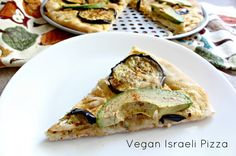 Vegan Israeli Pizza