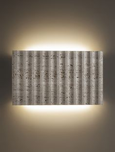 Products 2015 - Roma Marble version - Wall lamp / Applique - Natural marble stone highly decorative - LED Lighting - Elegant and simple for interiors - A decor piece suitable for hallway, stairs, lobby, corridor, above couch... - Thanks to its minimum thickness is favorite also for hotels and restaurants - Design by ILIDE (www.ilide.it)