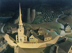 The Midnight Ride of Paul Revere, 1931 - Grant Wood