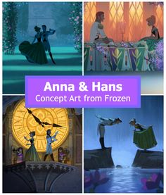 A behind-the-screen look at the original concept art from Frozen. Disney Girls, Disney Love, Disney Art, Walt Disney, Disney Concept Art, Game Concept Art, Disney Bound, Disney Frozen, Disney Insider