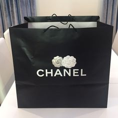 Chanel Large Bag with Camellia Flowers Authentic Chanel Large Shopping Bag with Camellia Flowers. CHANEL Accessories