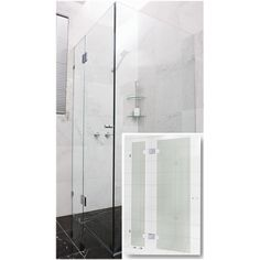 Find Highgrove 10 x 2000 x 865mm Frameless Glass Shower Door Kit at Bunnings Warehouse. Visit your local store for the widest range of bathroom & plumbing products.