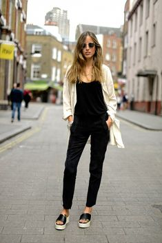 """Love my black overalls - May have to peg the legs more to get the """"skinny"""" leg look"""