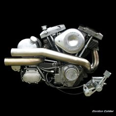 NO 38: HARLEY DAVIDSON SHOVELHEAD CHOPPER MOTORCYCLE ENGINE (2) | Flickr - Photo Sharing!