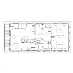 Seacoast Cottage Company Inc.- Mango Cottage floor plan