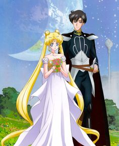 Princess Serenity and Prince Endymion (CRYSTAL)