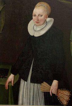 Ukendt dameportræt ca. 1630