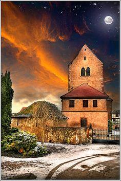 Under The Moon - Hipsheim, Alsace, France