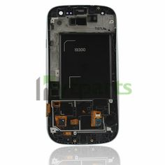 Repalcement LCD Touch Screen Display with Digitizer Touch with Frame For Samsung Galaxy S3 III GT-I9300 i535 i747 White  Genuine LCD with LED Backlight and Touch Screen preassembled