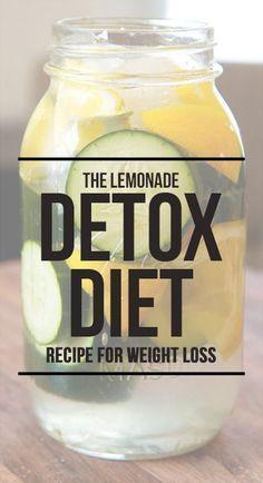The Lemonade Detox Diet – A Simple Recipe For Weight Loss #weightloss #detox #health