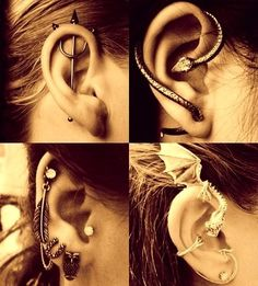 Okay im not into piercings but I love that trident one....a lot