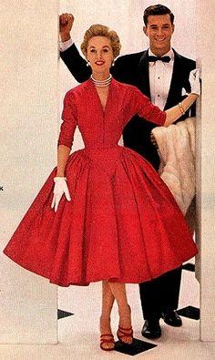 Gallery.ru / Фото #64 - Мода 50-60 годов. - KroshkaSju
