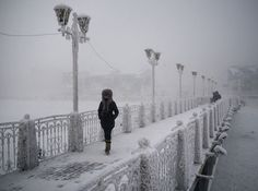 Siberia, Oymyakon |  Coldest Village on Earth Photography 12