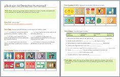 Understanding human rights - A comprehension activity for intermediate Spanish students. Free from AnneK at Confesiones y Realidades Blog.