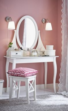 1000 ideas about ikea dressing table on pinterest malm for Ikea dressing table hemnes