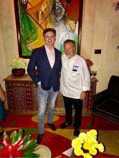 Good morning #Vegas! We are looking forward to the upcoming Las Vegas Market tomorrow! Loved having dinner at the Picasso Restaurant with Chef Juliano Serrano at the Bellagio Las Vegas last night. Follow CHRISTOPHER GUY (Americas) for more updates #ChristopherGuy #CGinVegas #CGLV #LVMKT