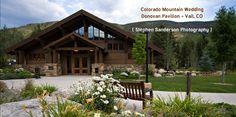 Colorado Mountain Wedding at The Donovan Pavilion in Vail, CO ...