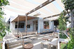 love the sun shading  JCT. Kitchen + Bar | REstyleSOURCE @smtihhanes #smithhanes #smithhanesstudio