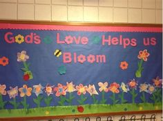 Image result for Christian Spring Bulletin Boards