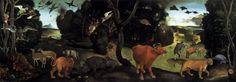 piero di cosimo | The Forest Fire. 1505. Piero di Cosimo.