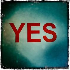 """Say """"yes"""" to everything on one day"""