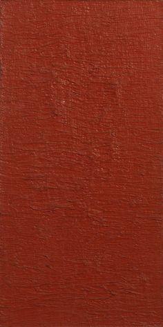 Structures monochromes rouges: D, 1960, by Bernard Aubertin