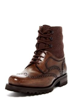 completewealthmag:  Complete Wealth Mag  C/o: Magnanni  Filed under: Brogues, Wingtips, Boots, Leather