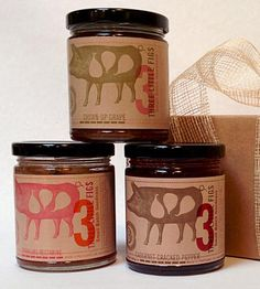 Wine Lover's Jams – Set of 3 | This pack of artisan jams includes Grown Up Grape, Sparkling N... | Jams & Jellies
